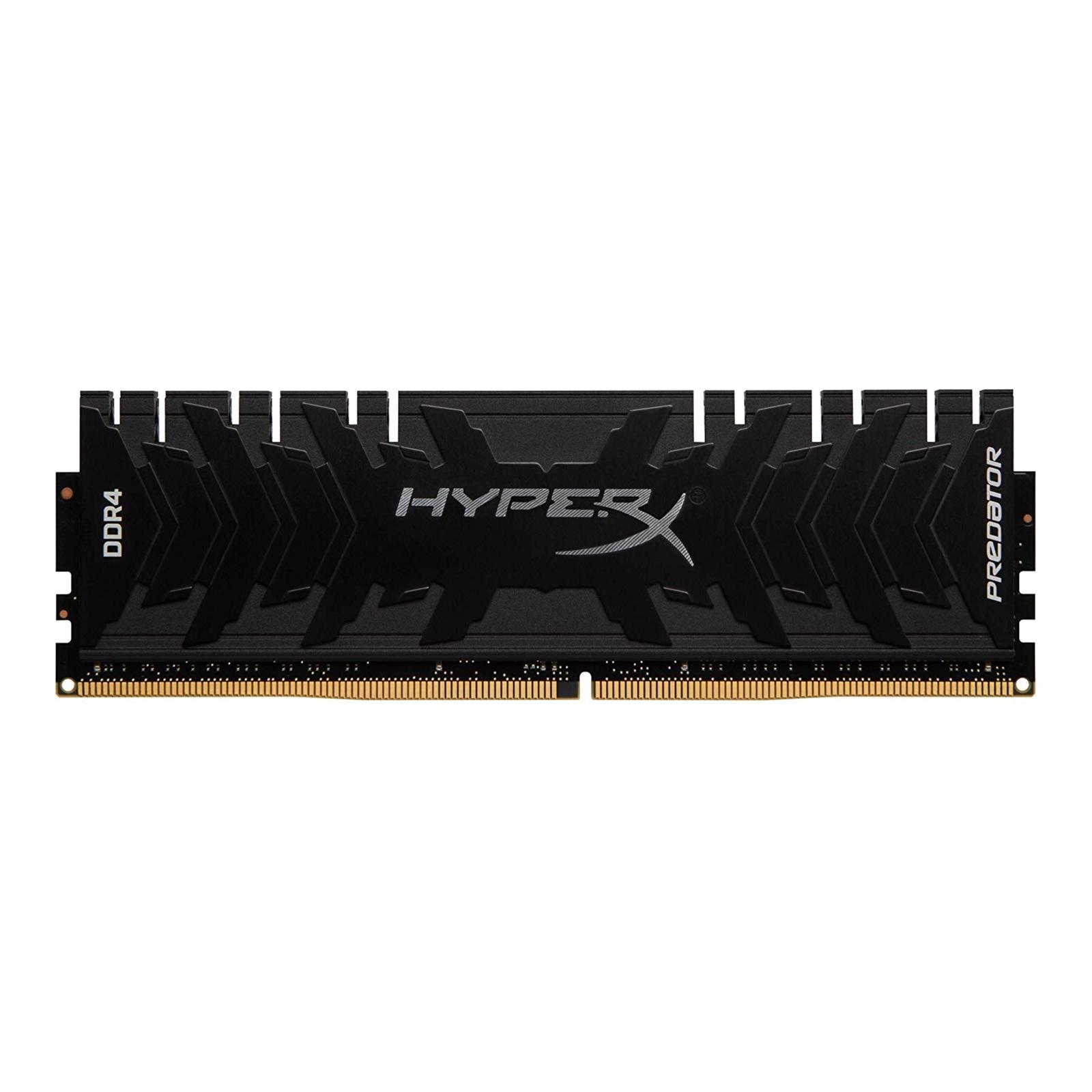 Модуль пам'яті для комп'ютера DDR4 8GB 3333 MHz HyperX Predator Black HyperX (Kingston Fury) (HX433C16PB3/8)
