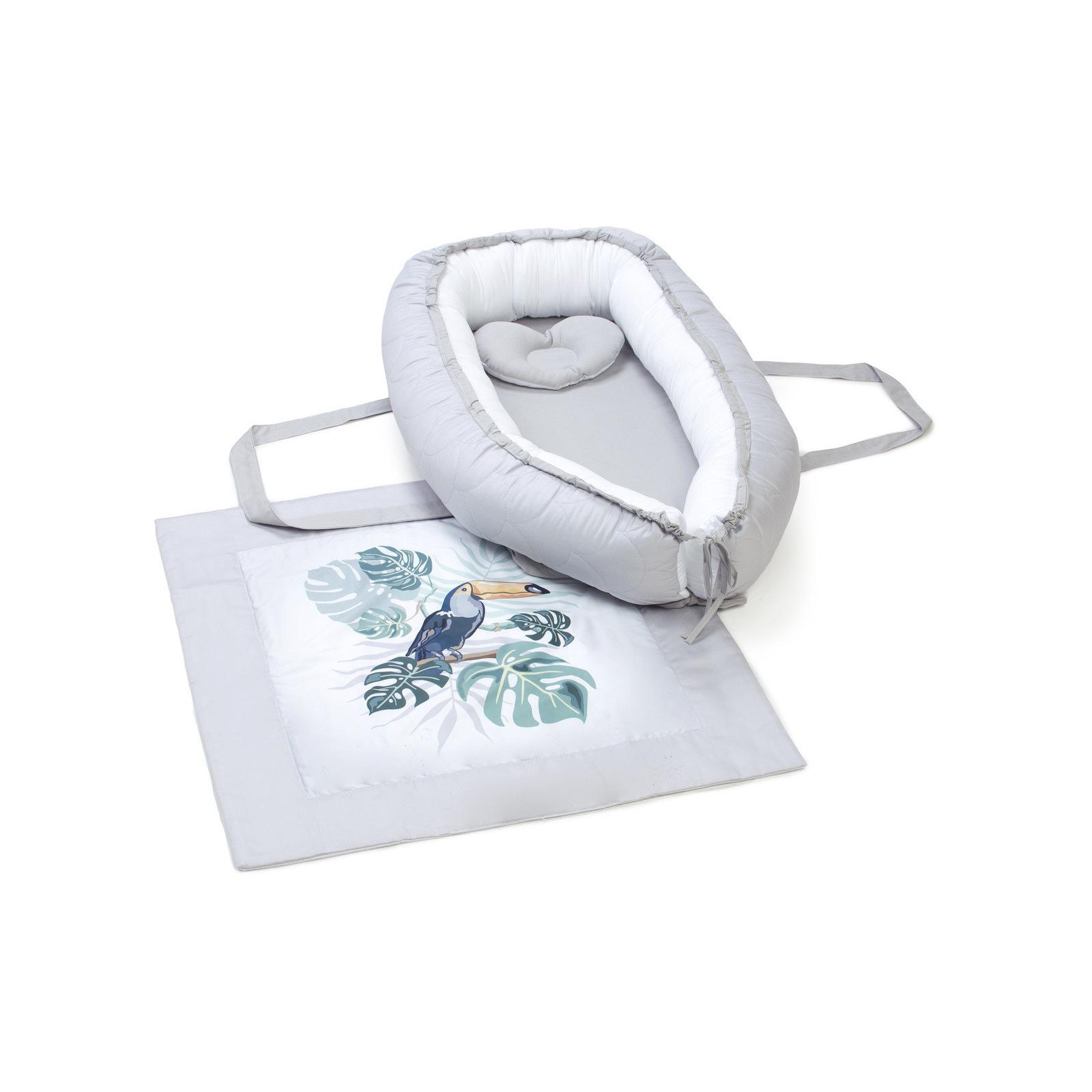 Пеленальный матрасик Верес Кокон-переноска с пледом Tropic baby (450.08)