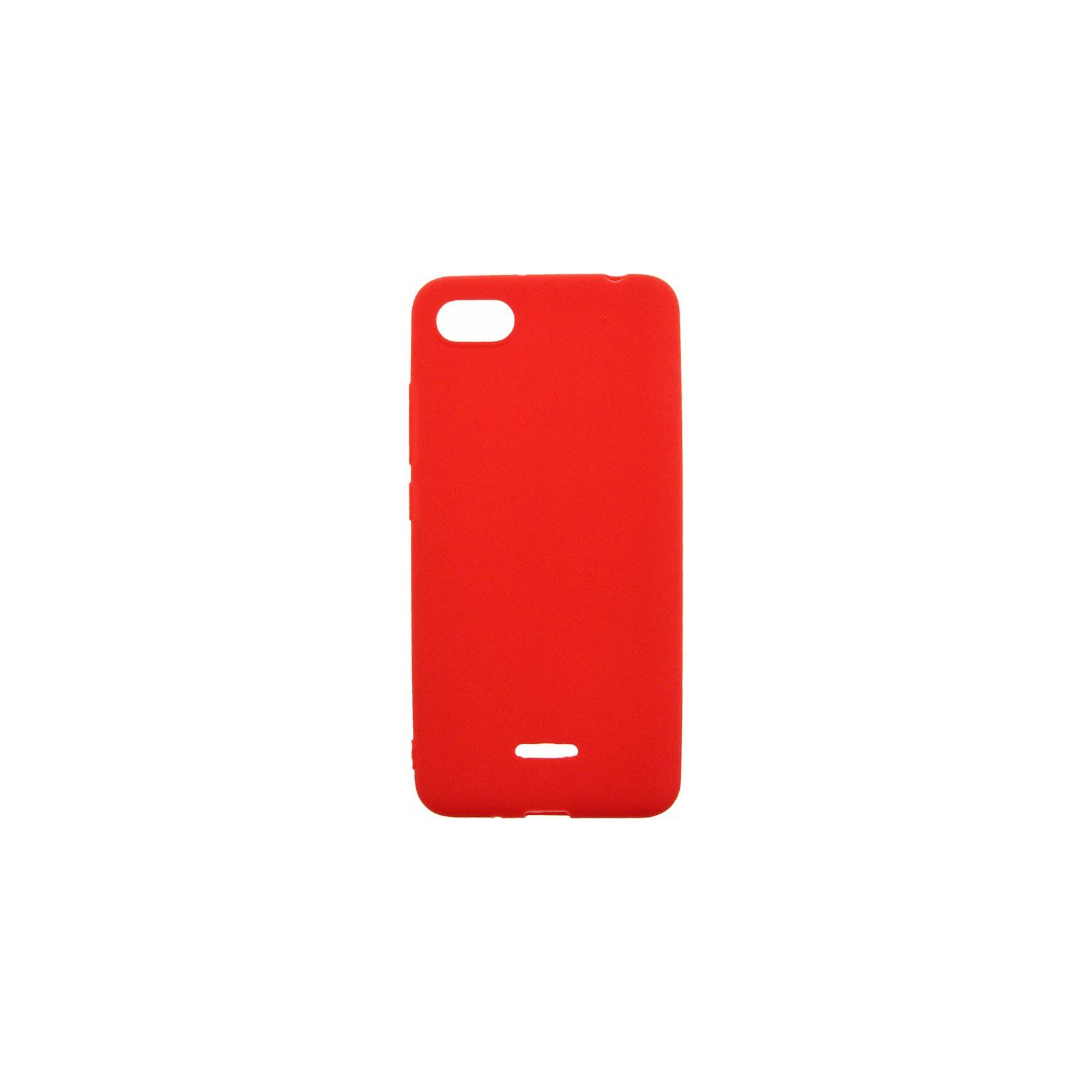 Чехол для моб. телефона Toto 1mm Matt TPU Case Xiaomi Redmi 6A Red (F_100395)