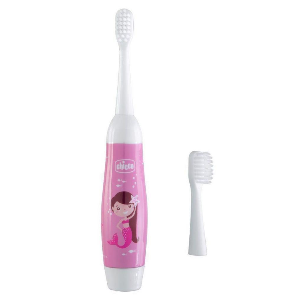 Детская зубная щетка Chicco электрическая розовая (08546.00)