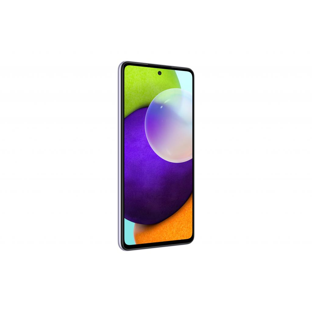 Мобільний телефон Samsung SM-A525F/256 (Galaxy A52 8/256Gb) Light Violet (SM-A525FLVISEK) зображення 2