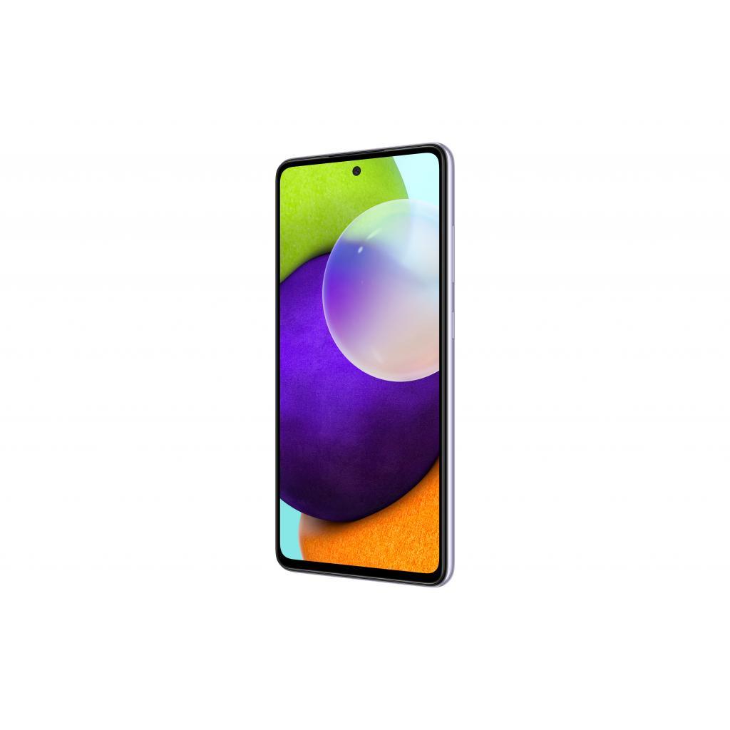 Мобільний телефон Samsung SM-A525F/256 (Galaxy A52 8/256Gb) Light Violet (SM-A525FLVISEK) зображення 3