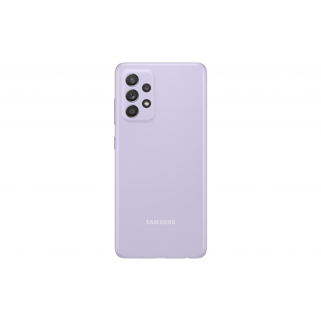 Мобільний телефон Samsung SM-A525F/256 (Galaxy A52 8/256Gb) Light Violet (SM-A525FLVISEK) зображення 4