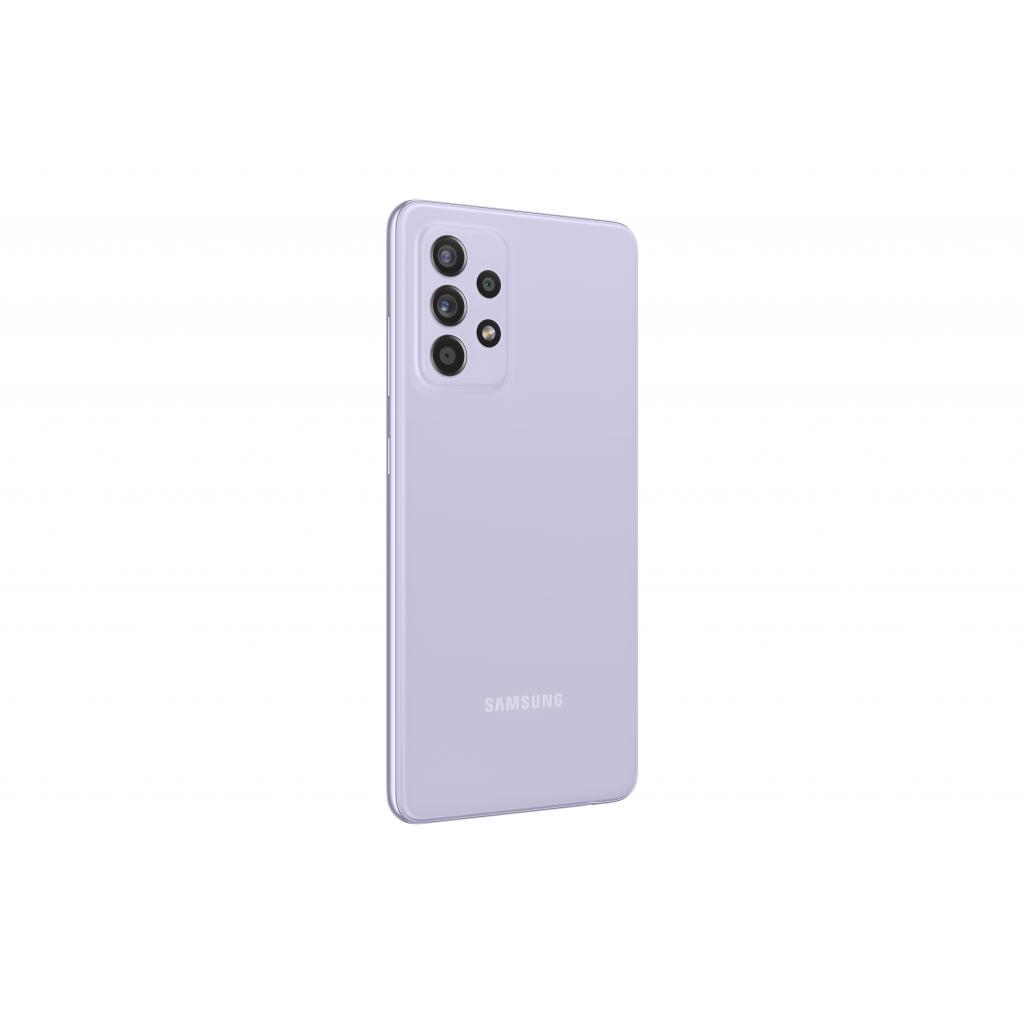Мобільний телефон Samsung SM-A525F/256 (Galaxy A52 8/256Gb) Light Violet (SM-A525FLVISEK) зображення 5
