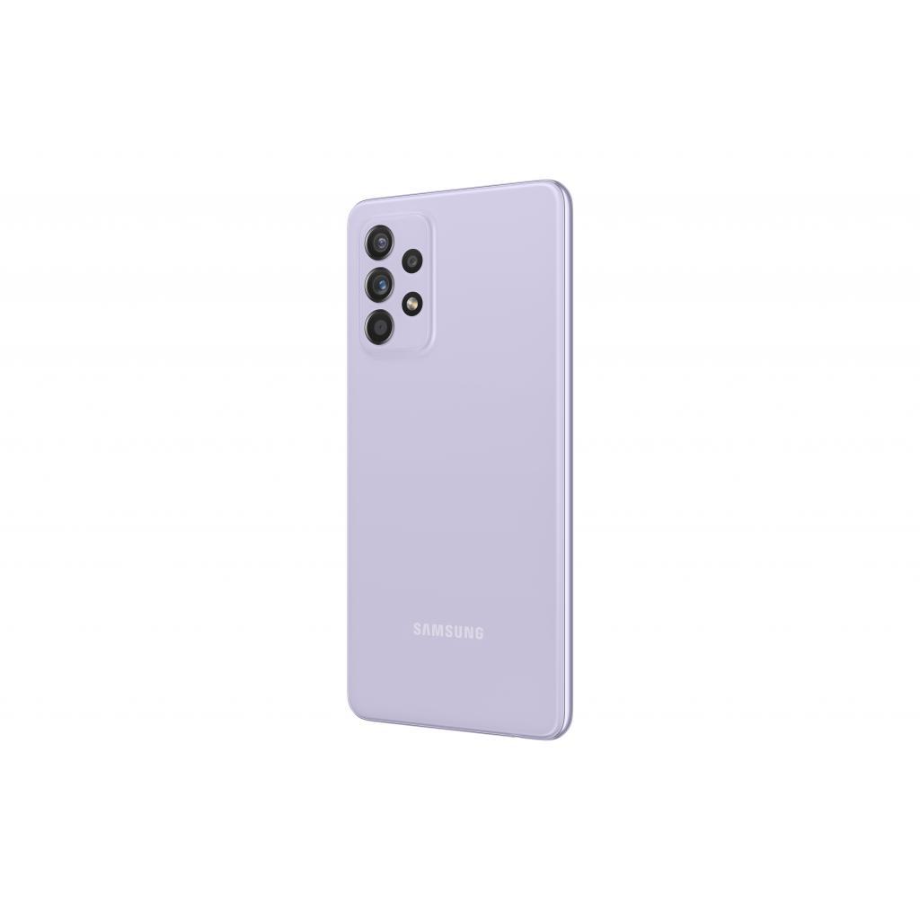 Мобільний телефон Samsung SM-A525F/256 (Galaxy A52 8/256Gb) Light Violet (SM-A525FLVISEK) зображення 6