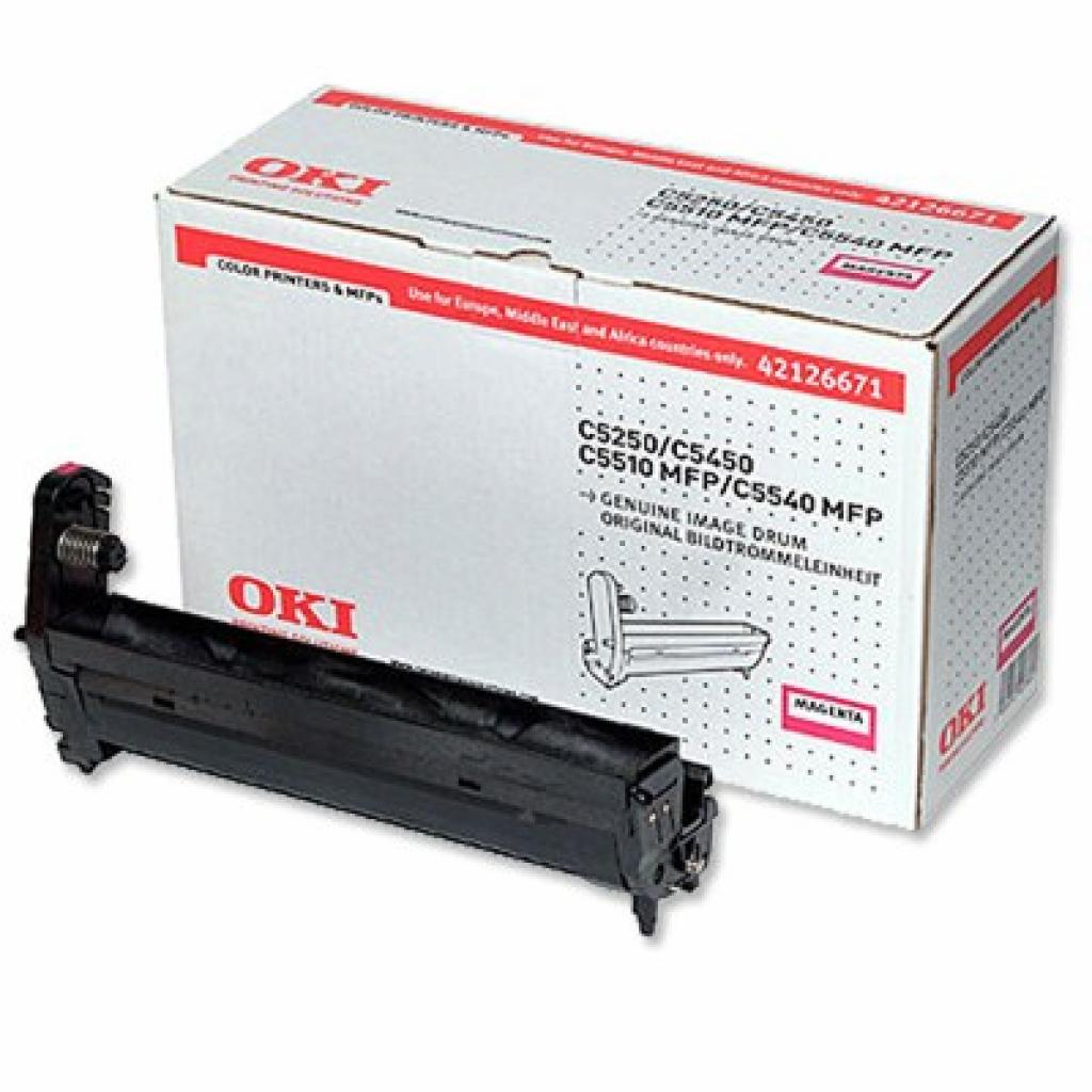 Фотокондуктор OKI C5250/5450/5510MFP/5540MFP Magenta (42126671)