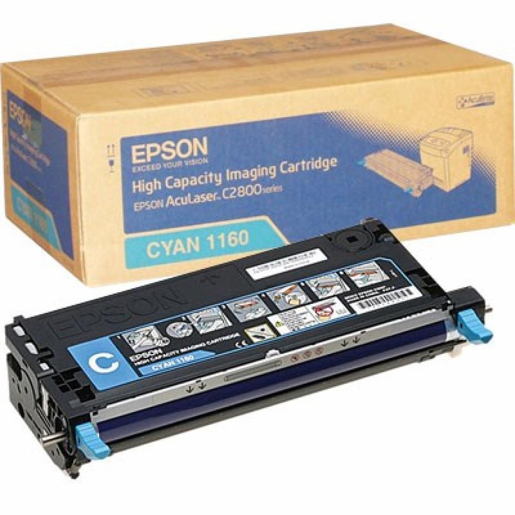 Картридж EPSON AcuLaser C2800 cyan (C13S051160)