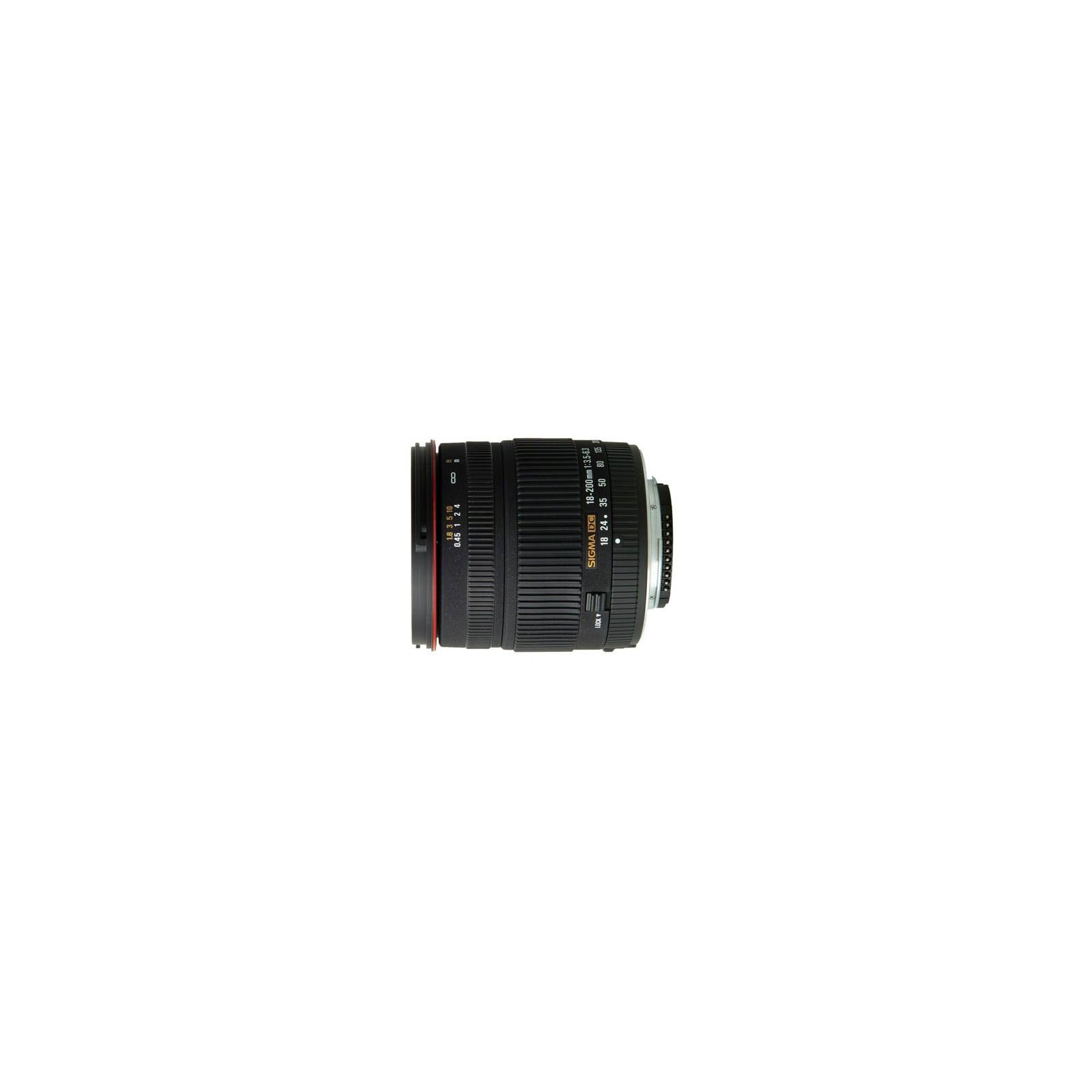 Объектив Sigma 18-200mm f/3.5-6.3 II DC OS for Canon (882954)