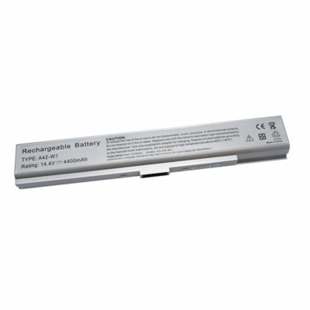 Аккумулятор для ноутбука Asus A42-W1 BatteryExpert (A42-W1 L 44)
