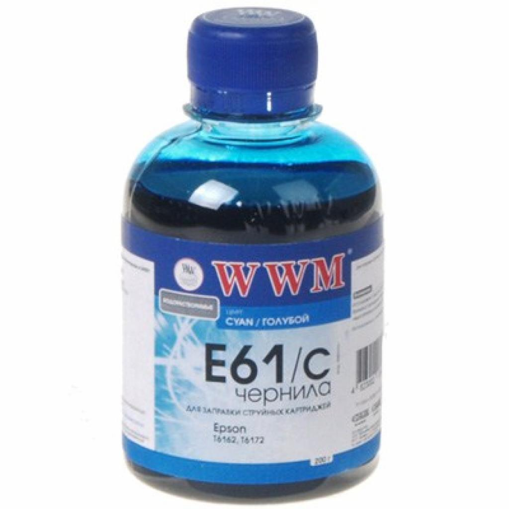 Чернила WWM EPSON B300/310/500/510DN Cyan (E61/C)