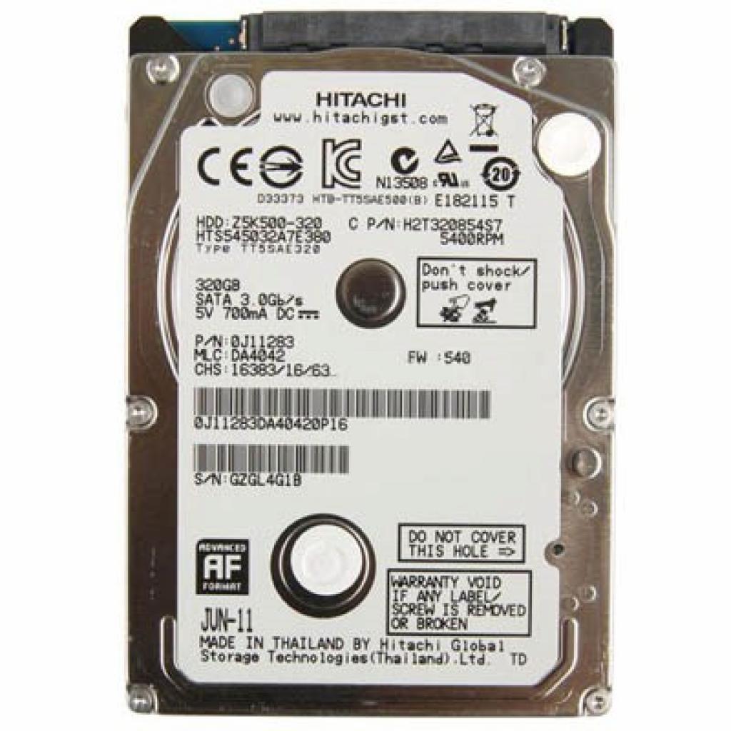"Жесткий диск для ноутбука 2.5"" 320GB Hitachi HGST (0J11283)"
