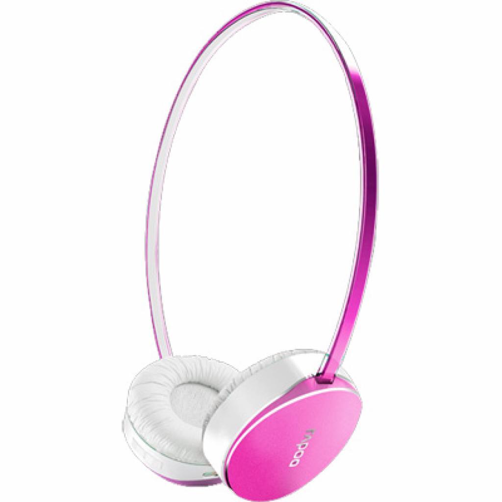 Наушники Rapoo S500 Pink bluetooth 4.0 (S500 Pink)