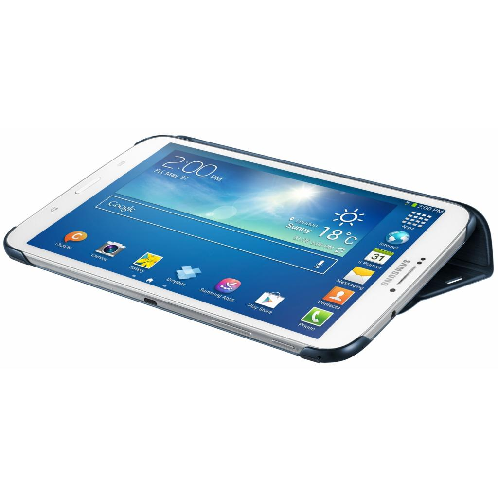 Чехол для планшета Samsung 8 GALAXY Tab 3 /Topaz Blue (EF-BT310BLEGWW) изображение 3