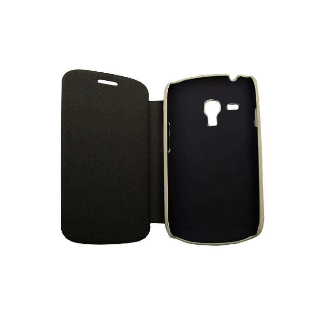 Чехол для моб. телефона Drobak для Samsung i8190 Galaxy S III mini /Book Style/White (215274) изображение 2