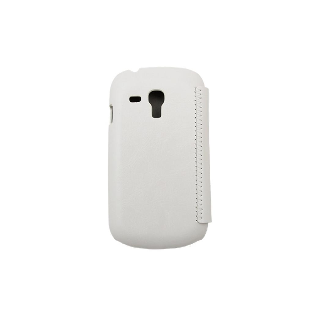 Чехол для моб. телефона Drobak для Samsung i8190 Galaxy S III mini /Book Style/White (215274) изображение 3