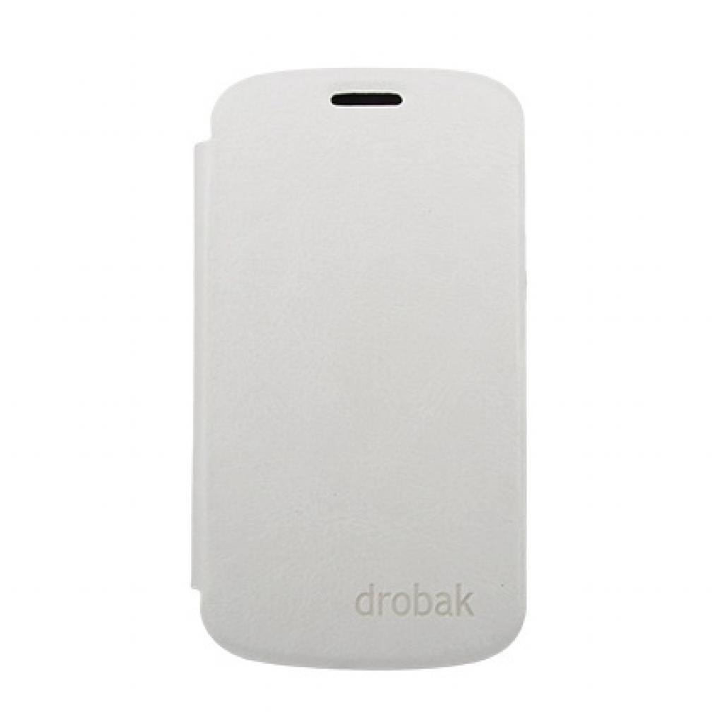Чехол для моб. телефона Drobak для Samsung i8190 Galaxy S III mini /Book Style/White (215274)