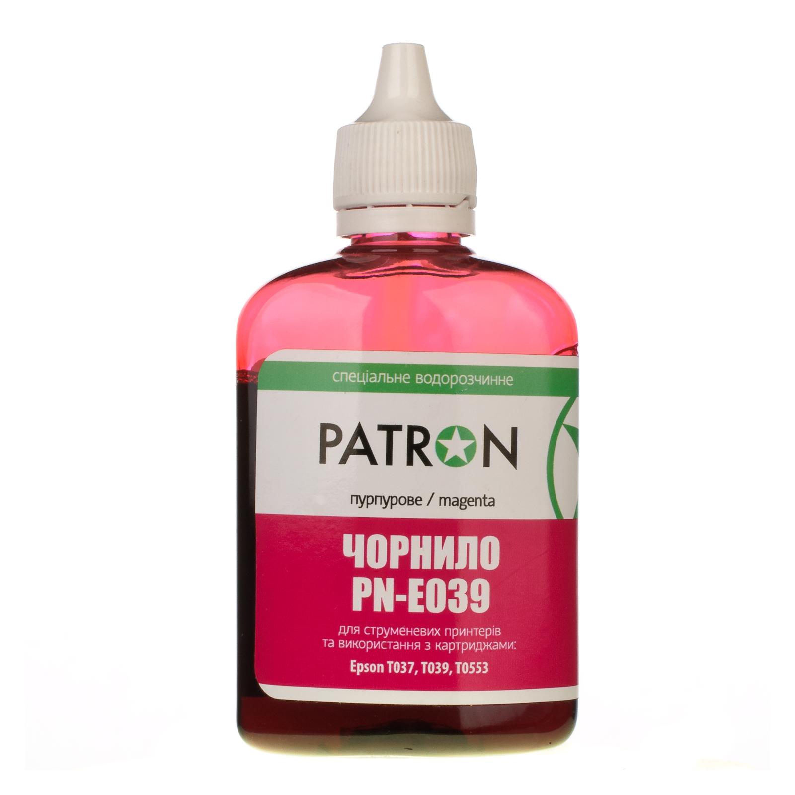 Чернила PATRON EPSON C45/T039/90г MAGENTA/PN-E039-300 (I-PN-ET039-090-M) изображение 2
