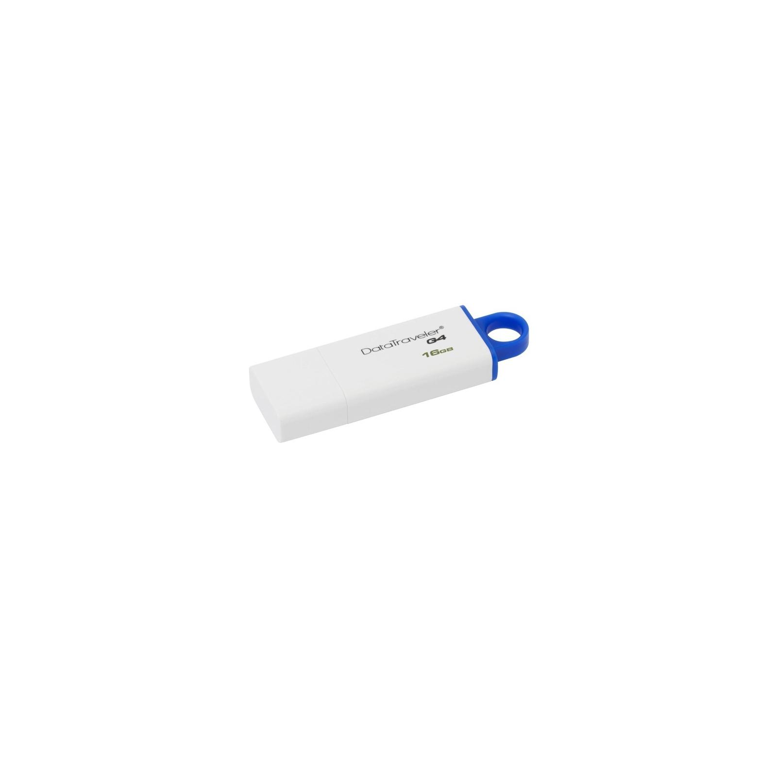 USB флеш накопитель Kingston 128Gb DataTraveler Generation 4 (DTIG4/128GB) изображение 2
