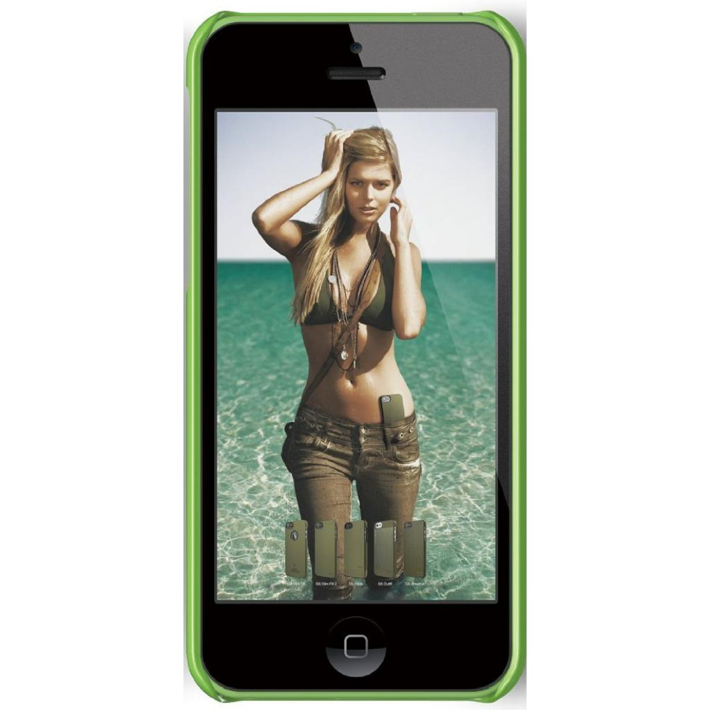 Чехол для моб. телефона ELAGO для iPhone 5C /Slim Fit/Green (ES5CSM-GR-RT) изображение 2