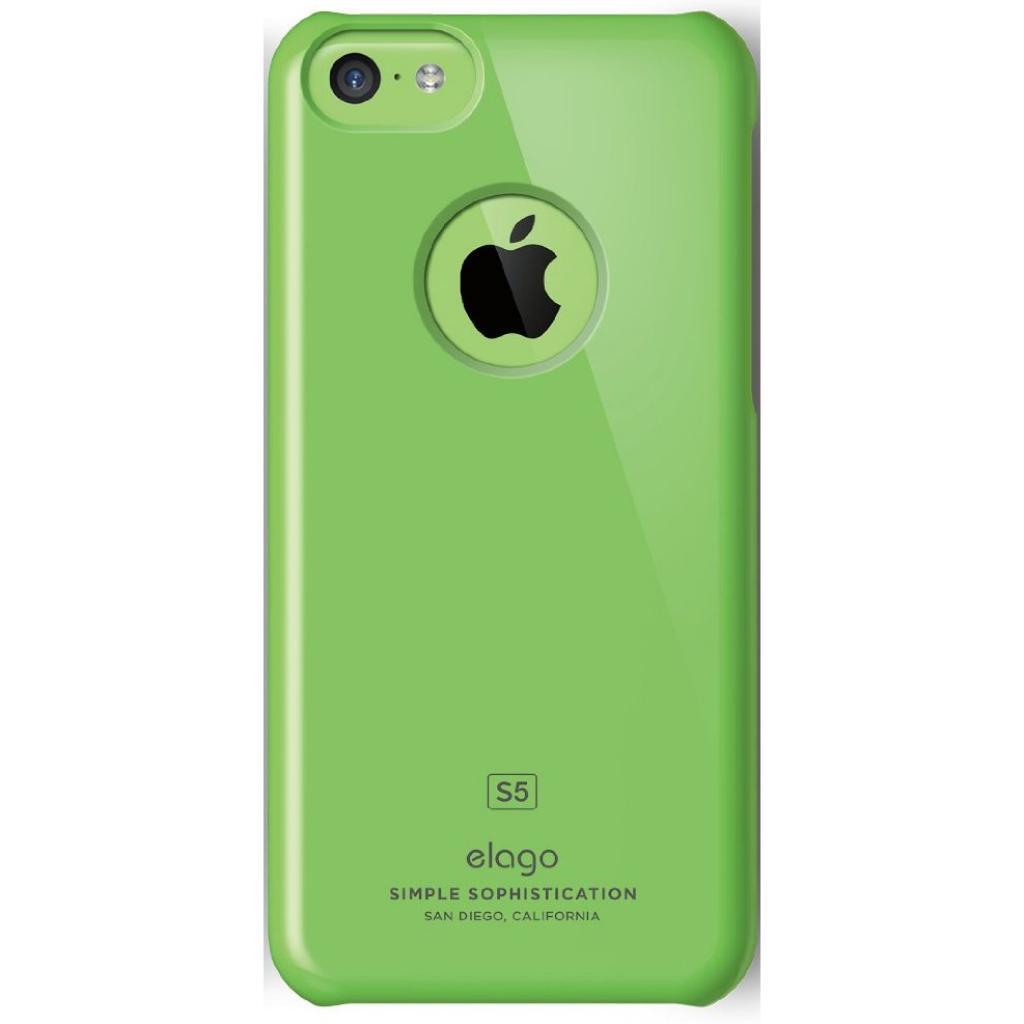 Чехол для моб. телефона ELAGO для iPhone 5C /Slim Fit/Green (ES5CSM-GR-RT) изображение 3