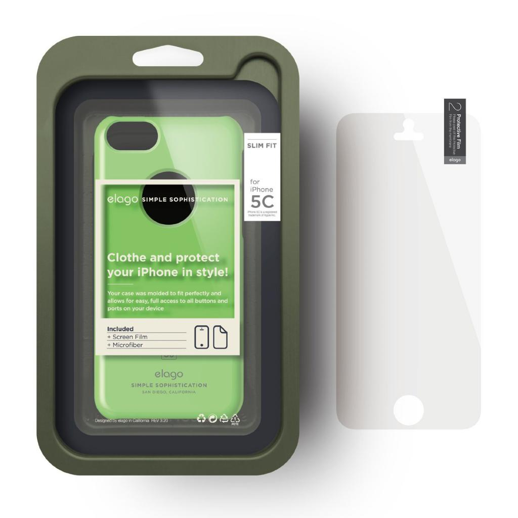 Чехол для моб. телефона ELAGO для iPhone 5C /Slim Fit/Green (ES5CSM-GR-RT) изображение 6