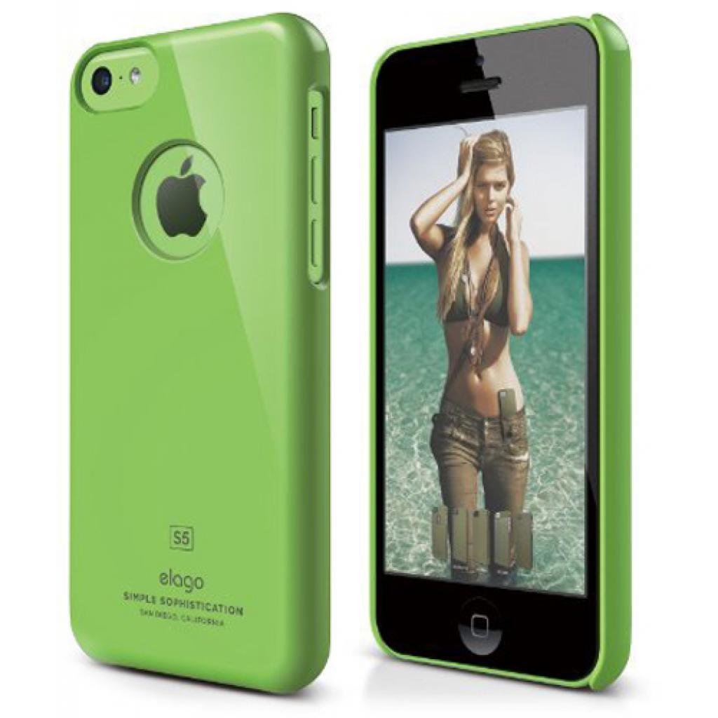 Чехол для моб. телефона ELAGO для iPhone 5C /Slim Fit/Green (ES5CSM-GR-RT)