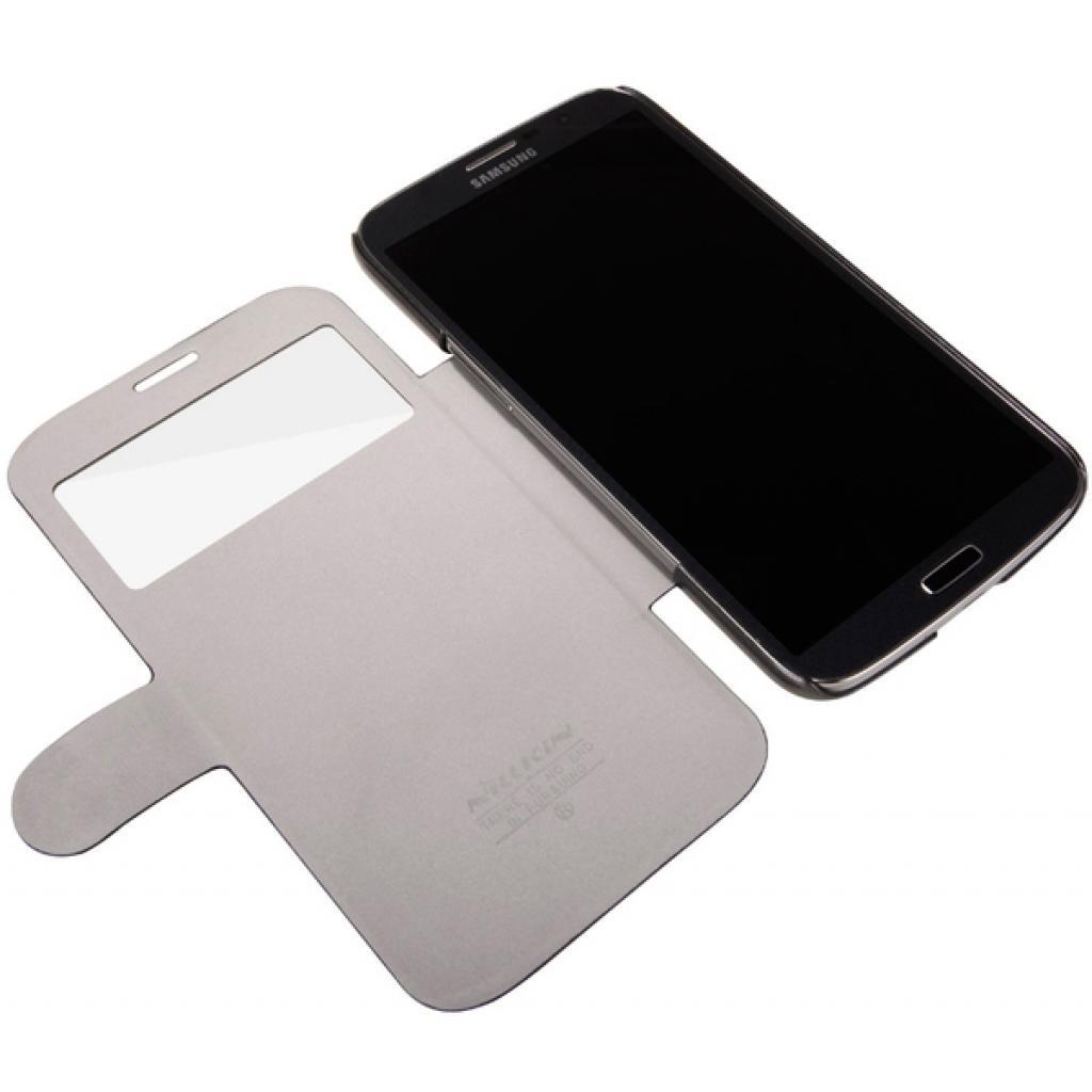 Чехол для моб. телефона NILLKIN для Samsung I9200 /Fresh/ Leather/Black (6065846) изображение 3