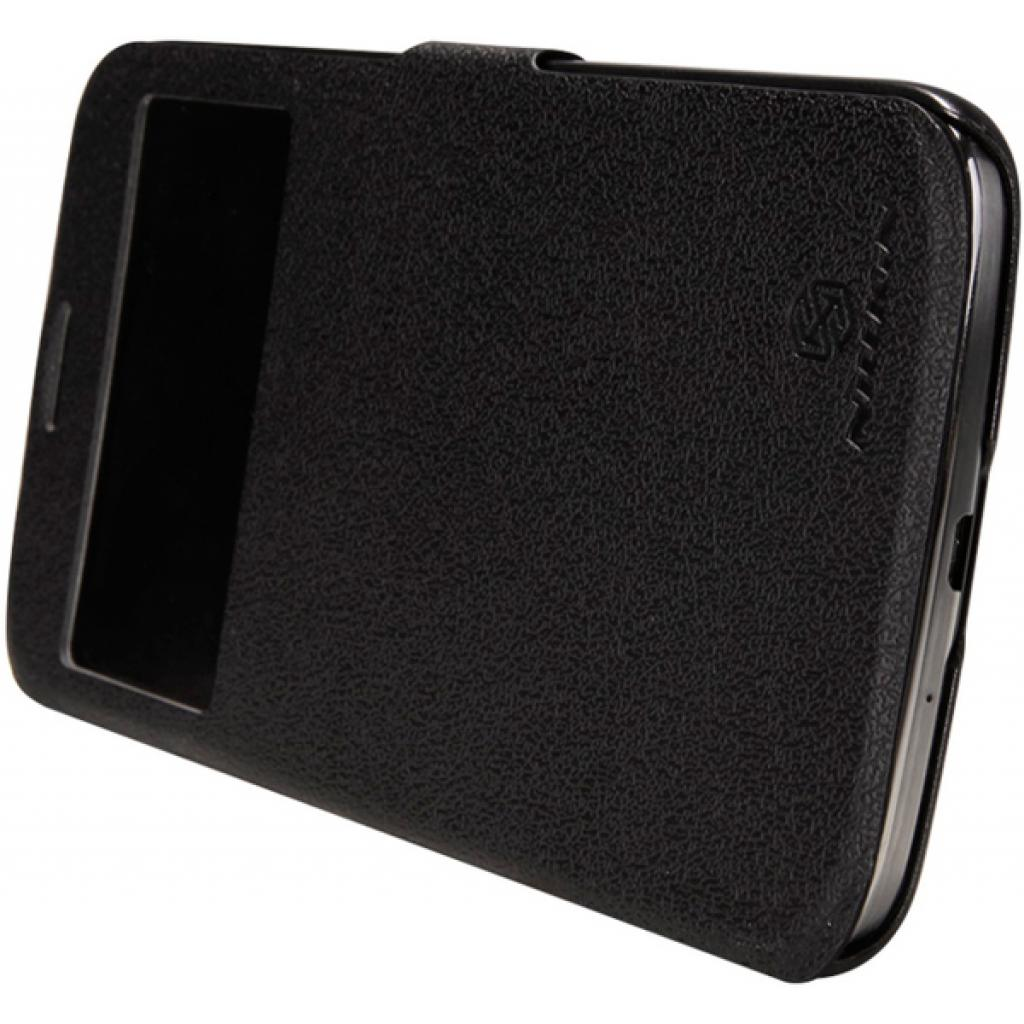 Чехол для моб. телефона NILLKIN для Samsung I9200 /Fresh/ Leather/Black (6065846) изображение 4