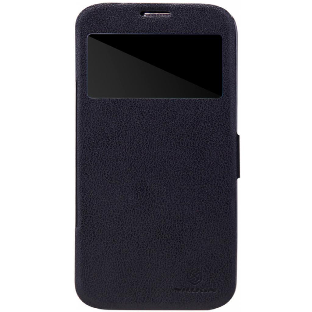 Чехол для моб. телефона NILLKIN для Samsung I9200 /Fresh/ Leather/Black (6065846)