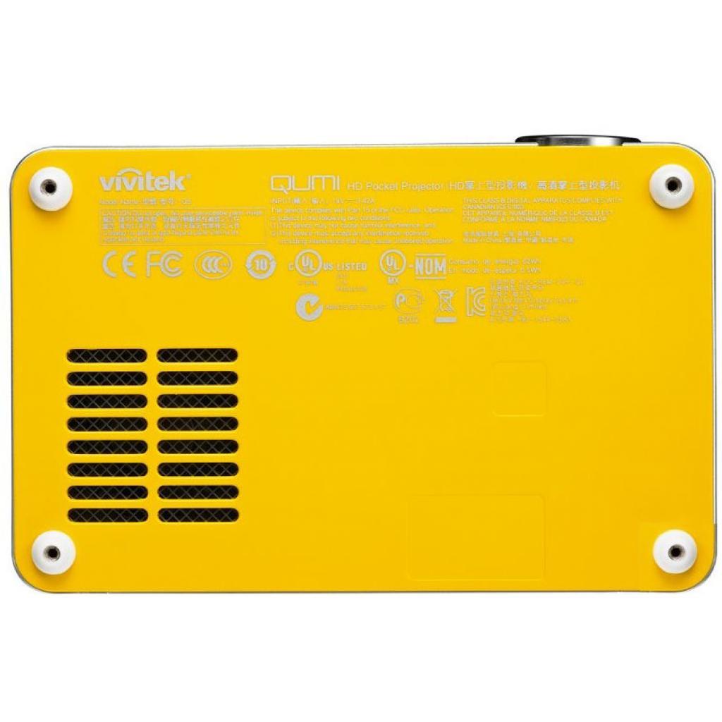 Проектор Vivitek Qumi Q5-Yellow изображение 6