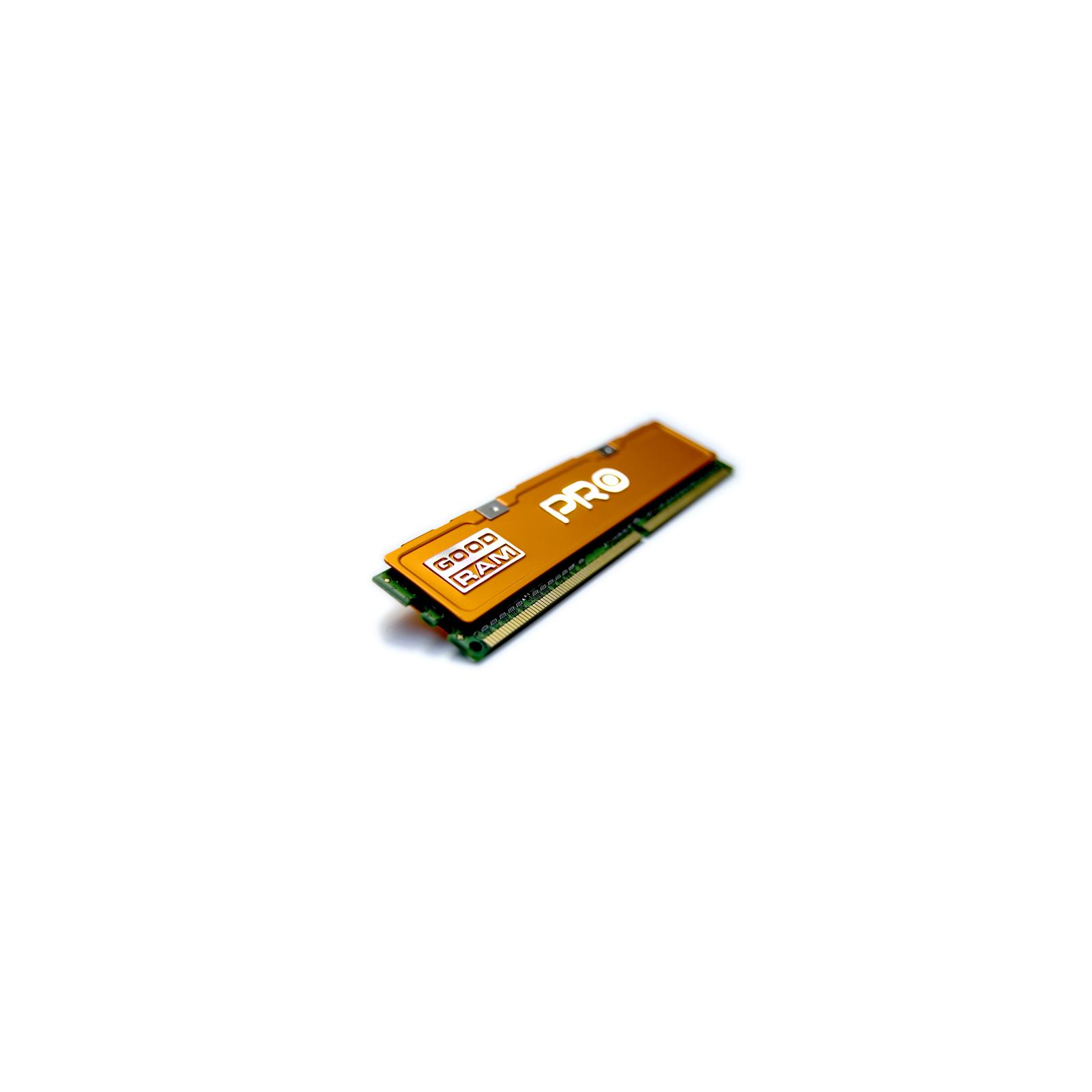 Модуль памяти для компьютера DDR3 4Gb 2400 MHz PRO GOODRAM (GP2400D364L11S/4G) изображение 2