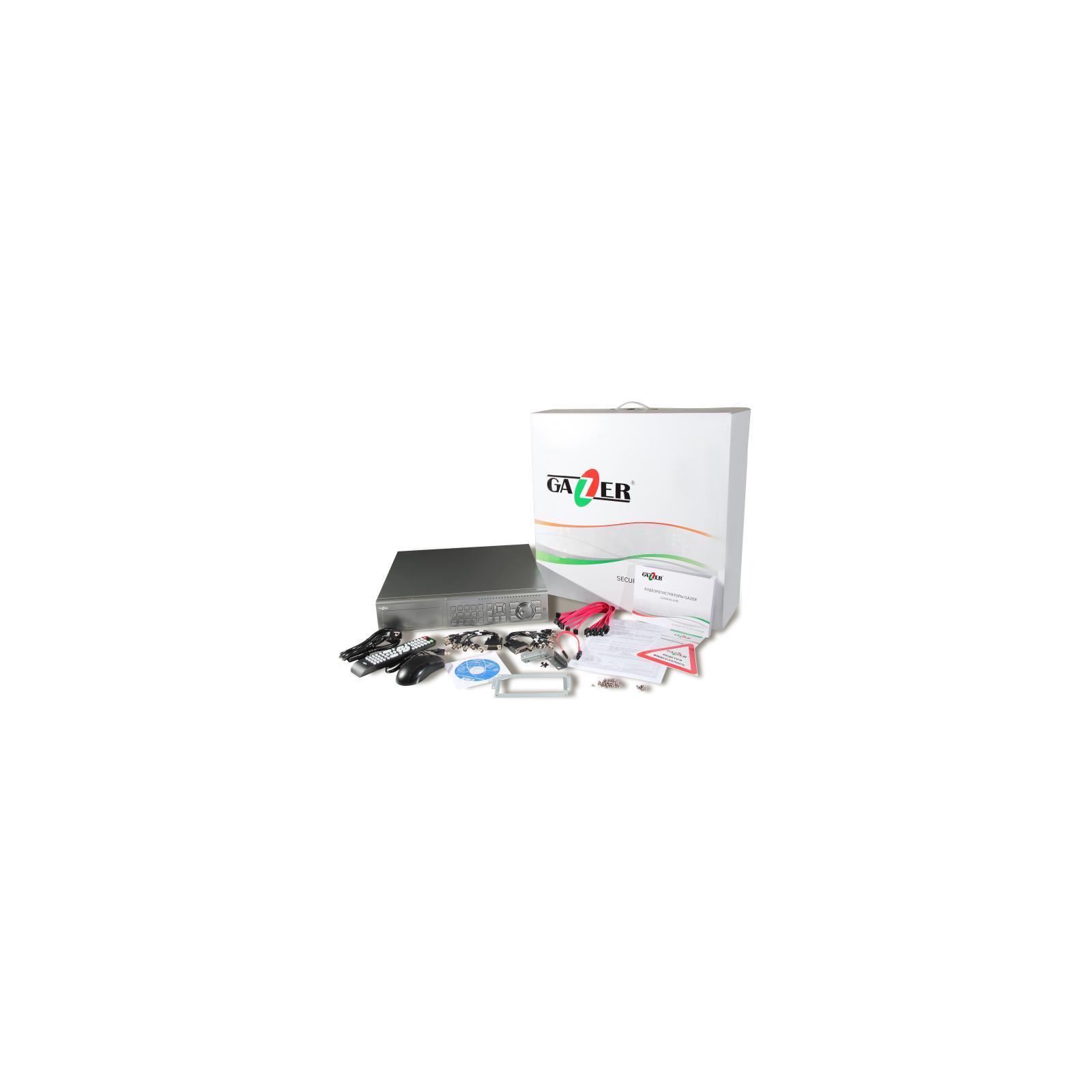 Регистратор для видеонаблюдения Gazer NS2224r изображение 12