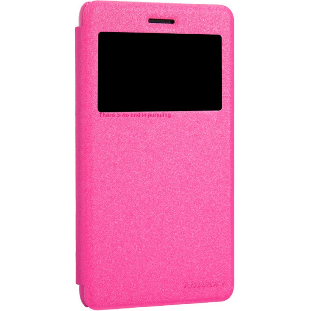 Чехол для моб. телефона NILLKIN для Lenovo S860 /Spark/ Leather/Red (6154924) изображение 2
