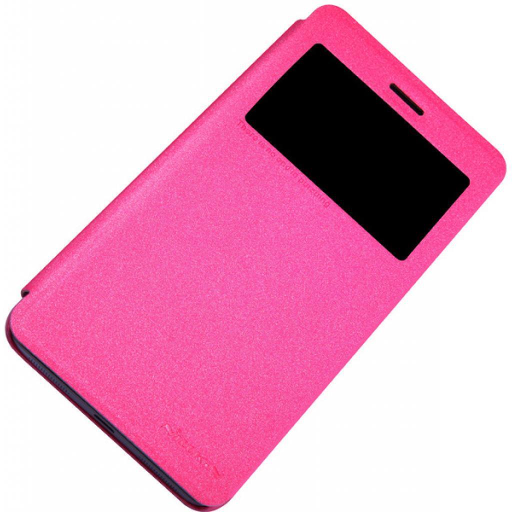 Чехол для моб. телефона NILLKIN для Lenovo S860 /Spark/ Leather/Red (6154924) изображение 3