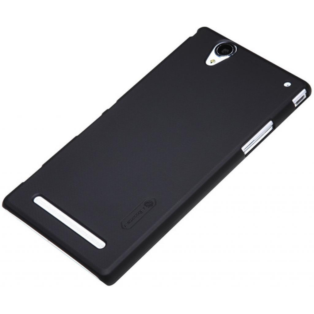 Чехол для моб. телефона NILLKIN для Sony Xperia T2 Ultra /Super Frosted Shield/Black (6147175) изображение 2