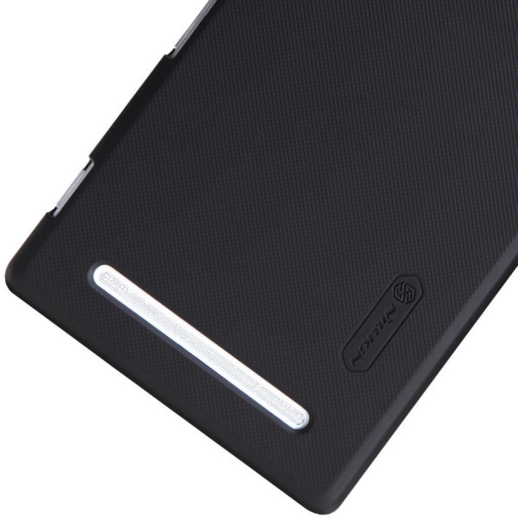 Чехол для моб. телефона NILLKIN для Sony Xperia T2 Ultra /Super Frosted Shield/Black (6147175) изображение 4