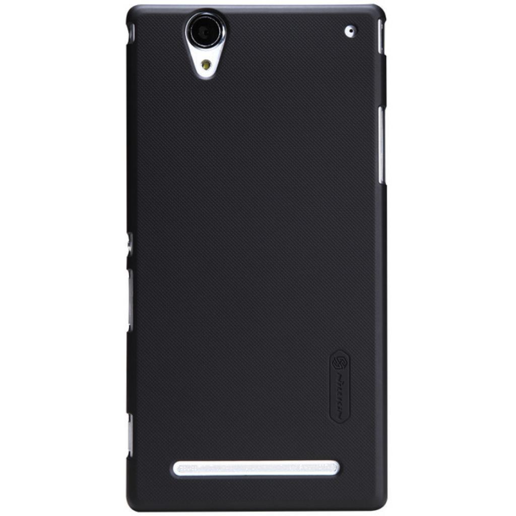Чехол для моб. телефона NILLKIN для Sony Xperia T2 Ultra /Super Frosted Shield/Black (6147175)