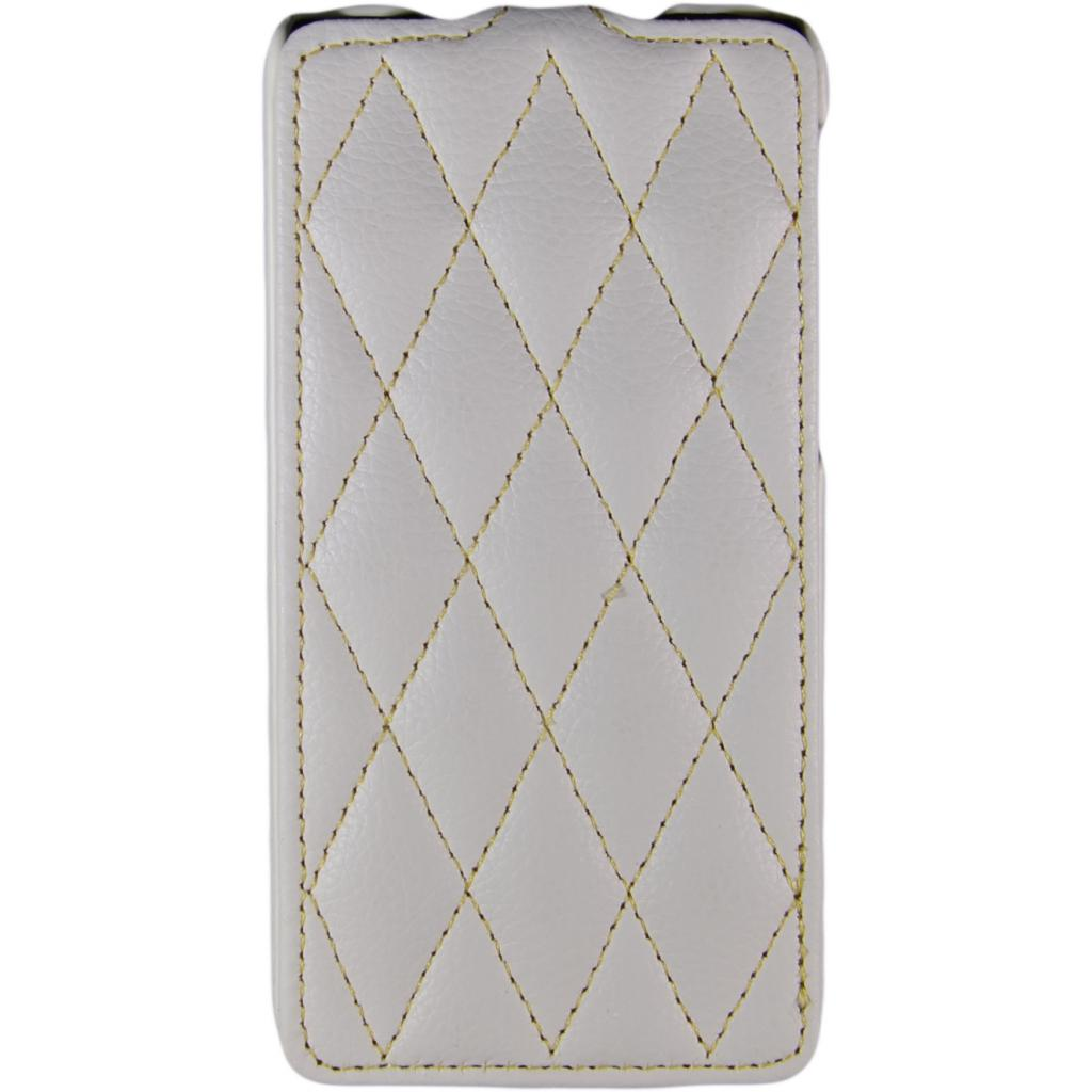 Чехол для моб. телефона Carer Base для Lenovo S660 white grid (Carer Base lenovoS660w gr)