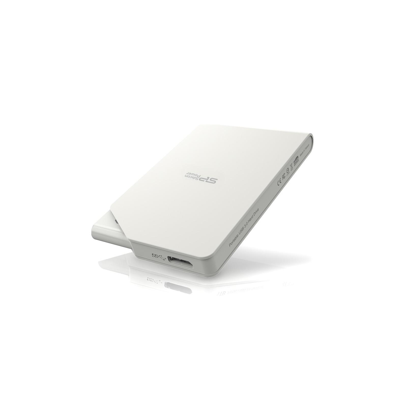 """Внешний жесткий диск 2.5"""" 2TB Silicon Power (SP020TBPHDS03S3W) изображение 3"""
