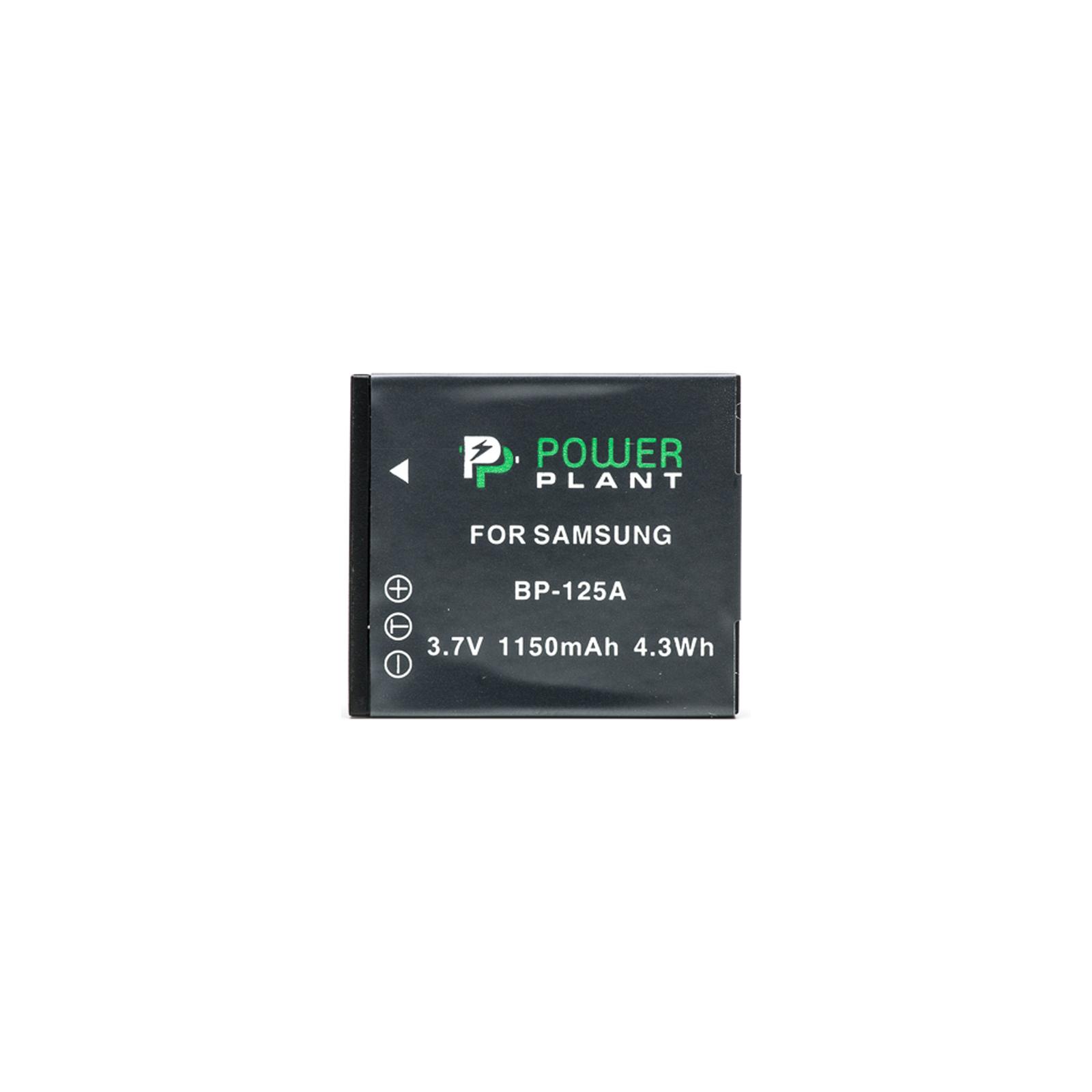 Аккумулятор к фото/видео PowerPlant Samsung IA-BP125A (DV00DV1266) изображение 2