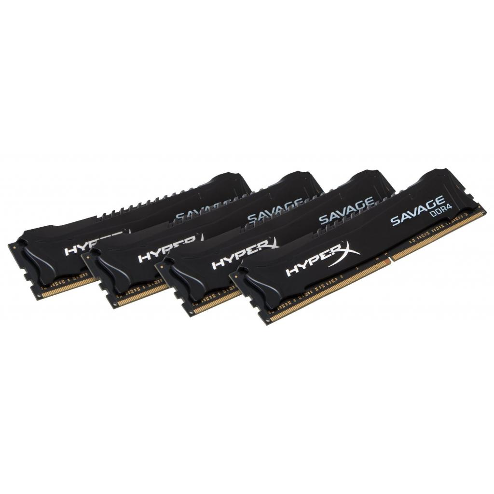 Модуль памяти для компьютера DDR4 32GB (4x8GB) 2666 MHz HyperX Savage Kingston (HX426C13SBK4/32) изображение 2