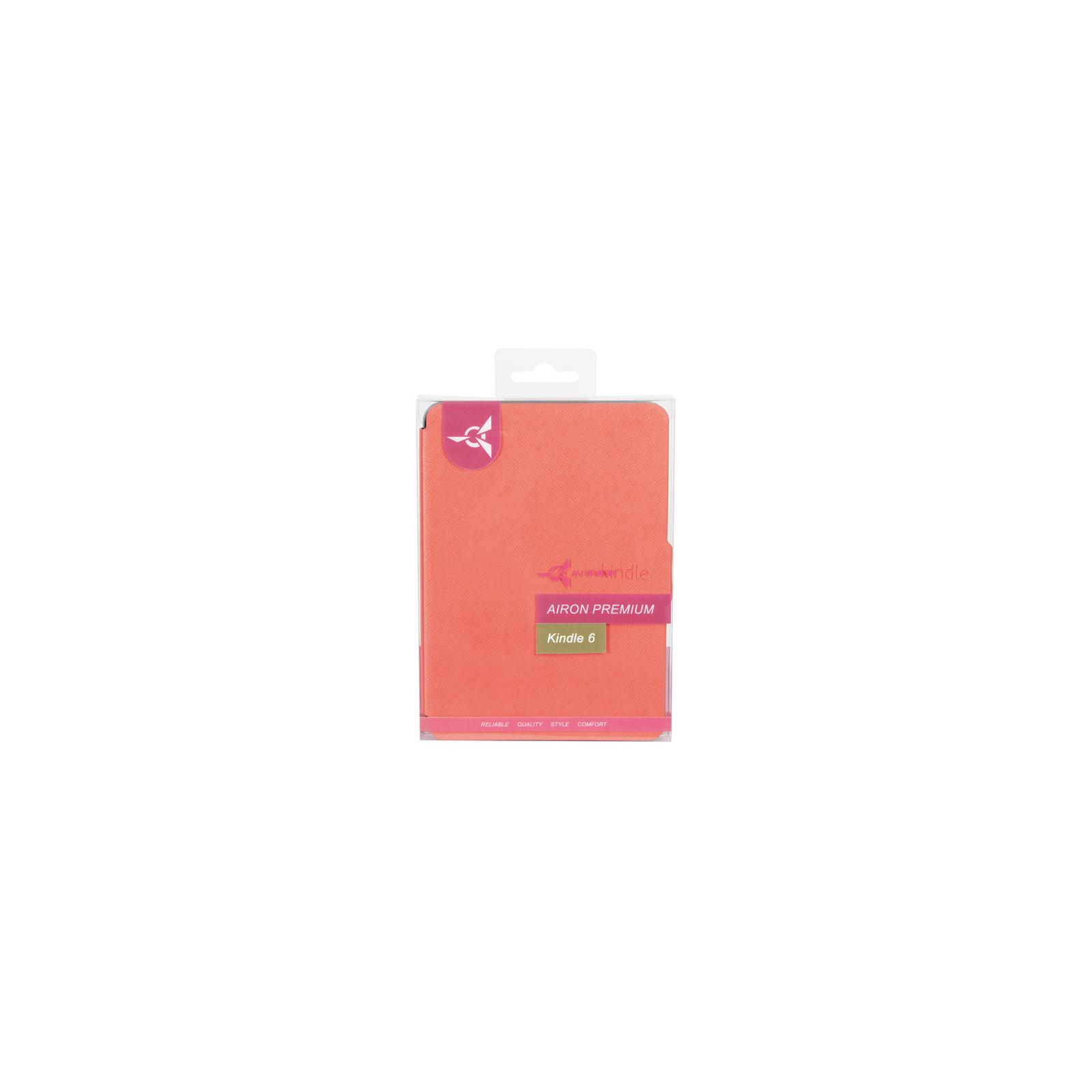 Чехол для электронной книги AirOn для Amazon Kindle 6 orange (4822356754498) изображение 6
