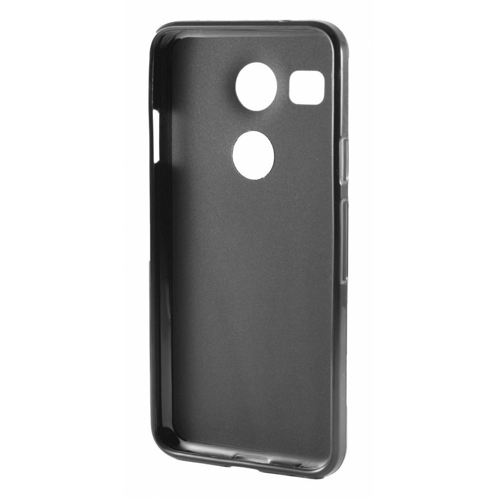 Чехол для моб. телефона Drobak Elastic PU для LG Google Nexus 5X Black (215574) изображение 2