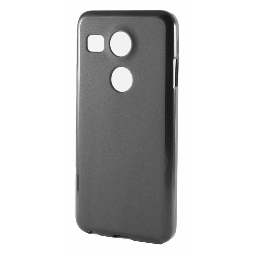 Чехол для моб. телефона Drobak Elastic PU для LG Google Nexus 5X Black (215574)