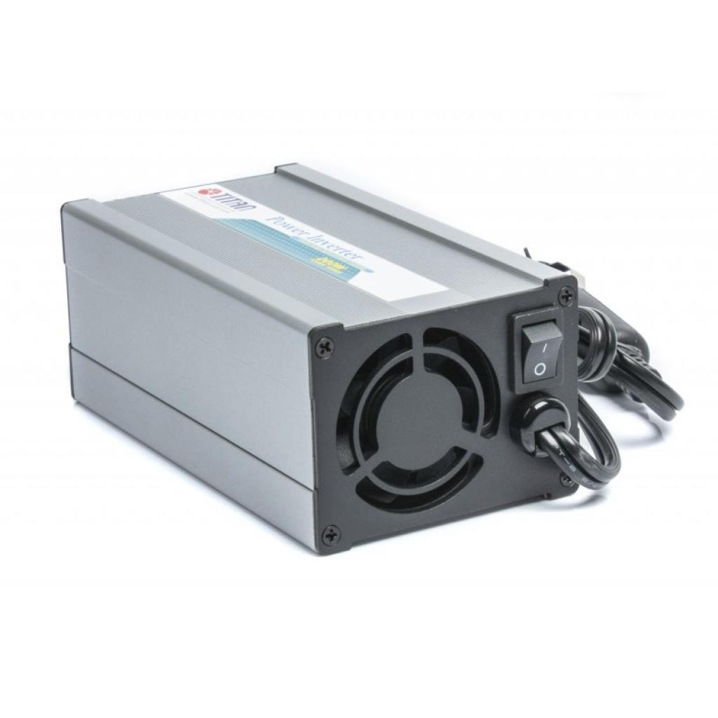 Адаптер автомобильный 12V/220V TITAN 12/24V 200W + USB (TP-200E5) изображение 2