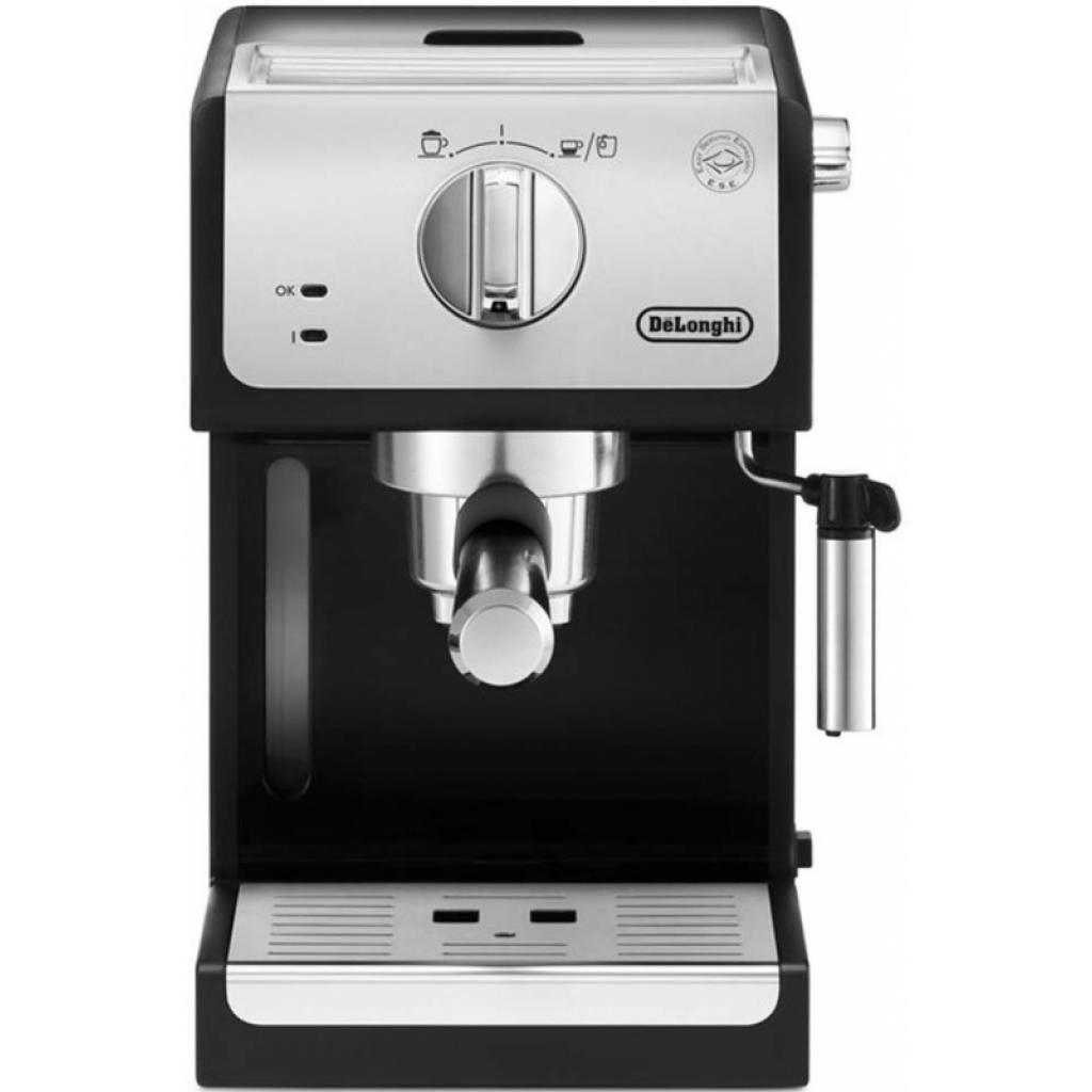Кофеварка DeLonghi ECP 33.21 BK Silver изображение 2