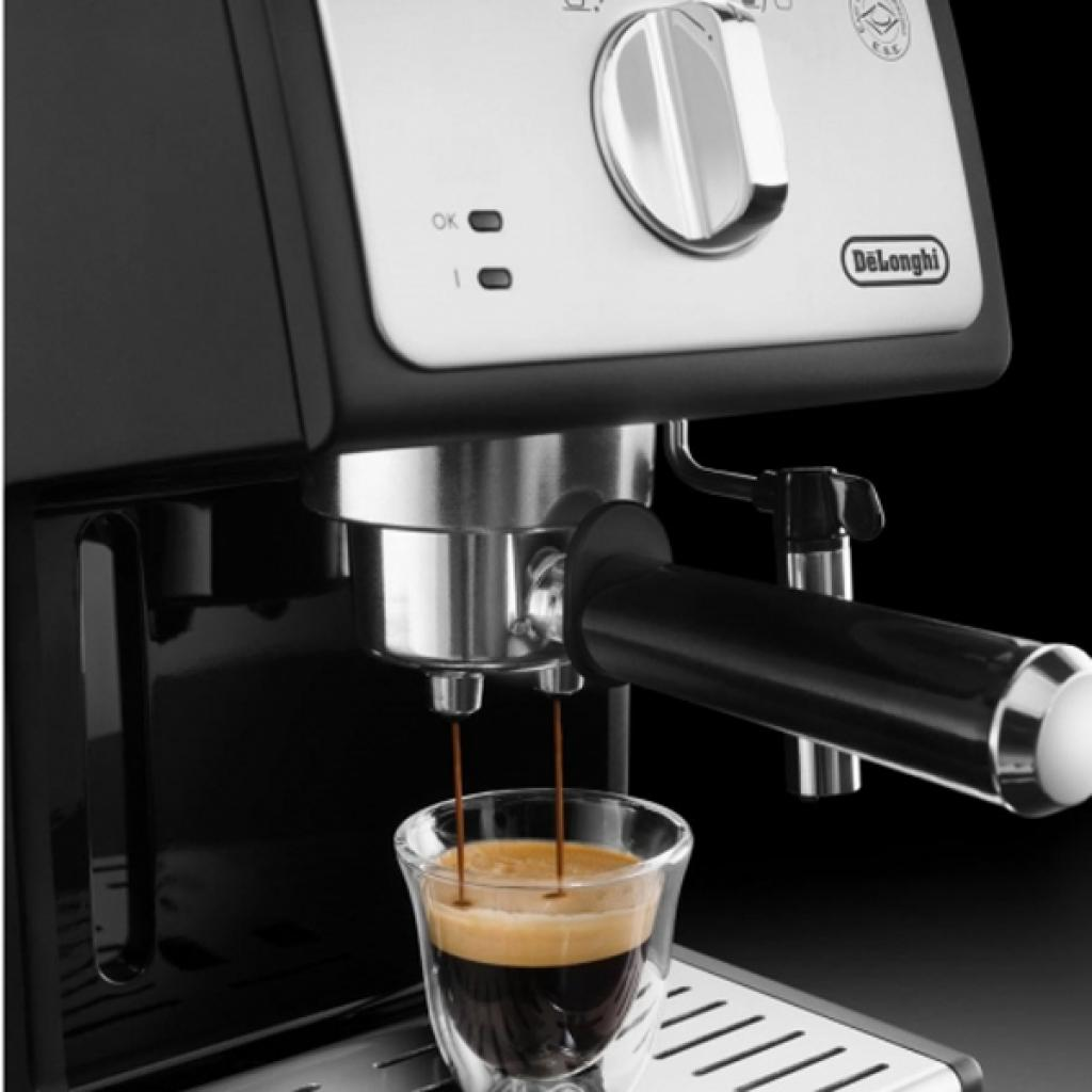 Кофеварка DeLonghi ECP 33.21 BK Silver изображение 3