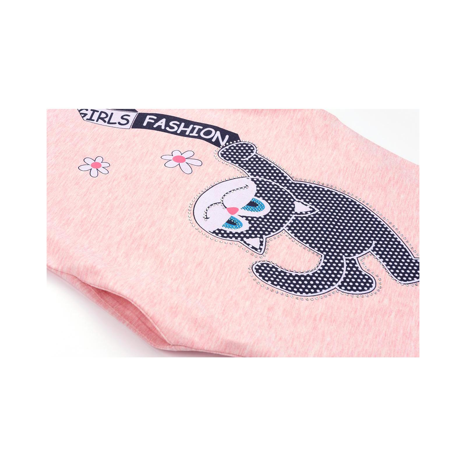 Платье Breeze с котиком (9773-128G-peach) изображение 4