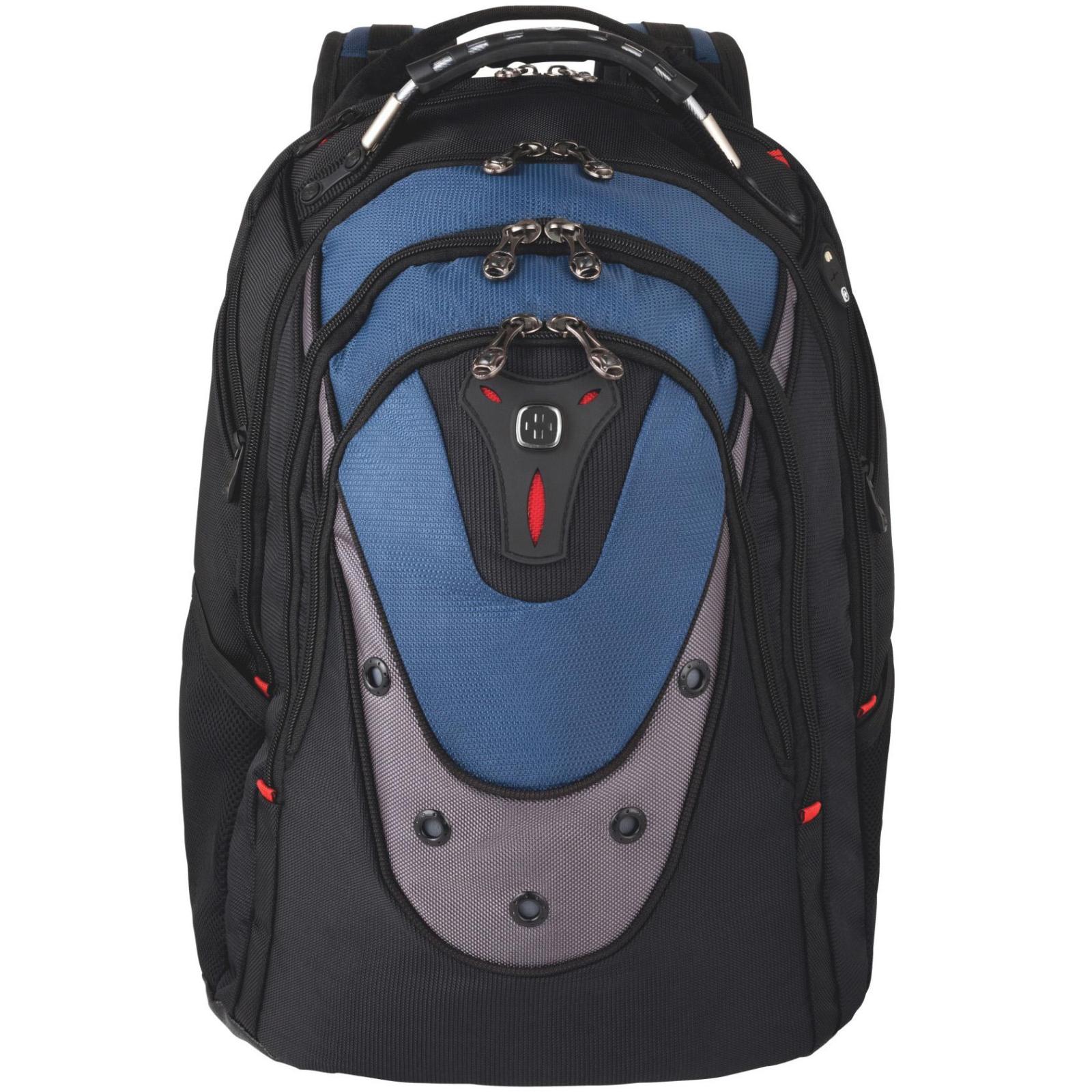 "Рюкзак для ноутбука Wenger 17"" Ibex Black/Blue (600638) изображение 2"