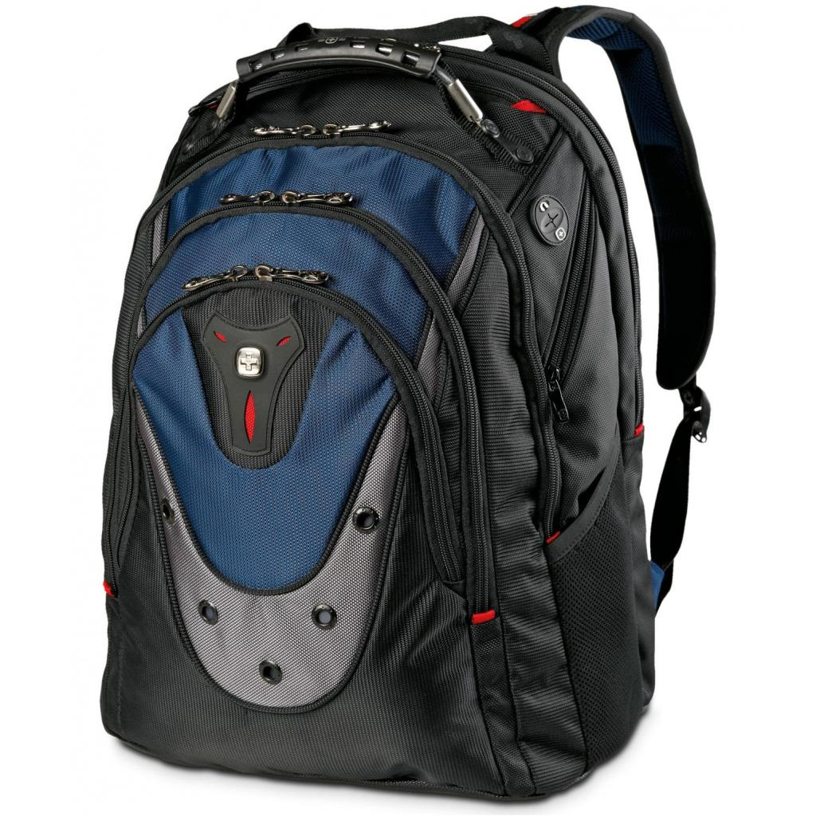 "Рюкзак для ноутбука Wenger 17"" Ibex Black/Blue (600638) изображение 4"